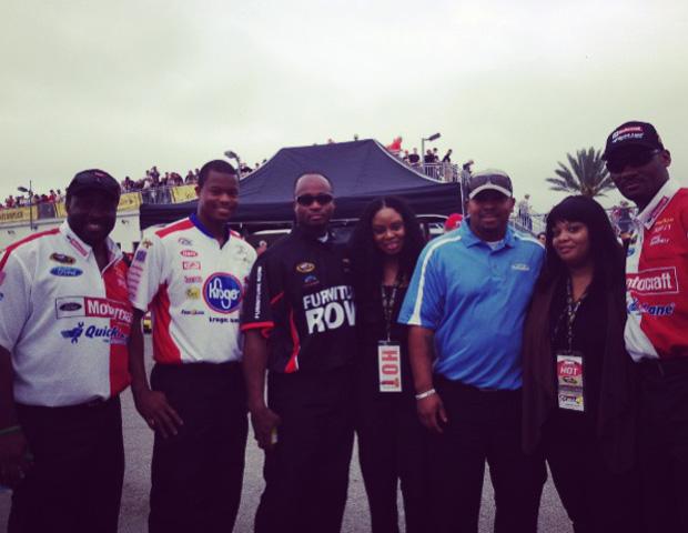 Experience NASCAR through Black Enterprise Live