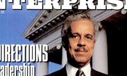 Historic Black Enterprise Magazine Covers: Virginia's 1st Black Governor, January, 1989