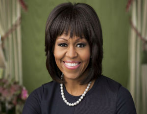 First Lady Michelle Obama's Official Portrait for 2nd Term Released