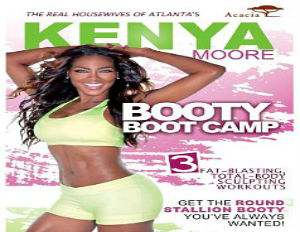 Real Housewives of Atlanta's Kenya Moore Launches New Fitness DVD