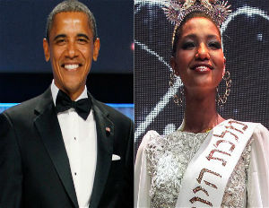 Pres. Obama to Dine with First Black Miss Israel
