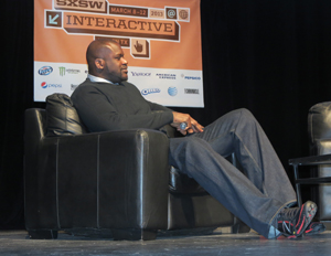 Former NBA Great Shaquille O'Neal Trades in Sneaks for Gadgets at SXSW