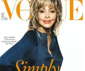 Tina Turner Graces Vogue Germany Cover