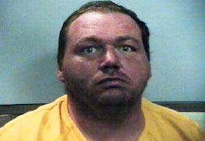 white deranged man in jail