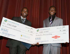 African Students Win Global Competition With Anti-Malaria Soap