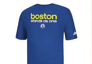 Adidas Selling T-Shirt to Support Bombing Victims