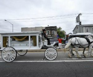 50 Cent Pays for Horse-Drawn Carriage for D'aja Robinson's Funeral