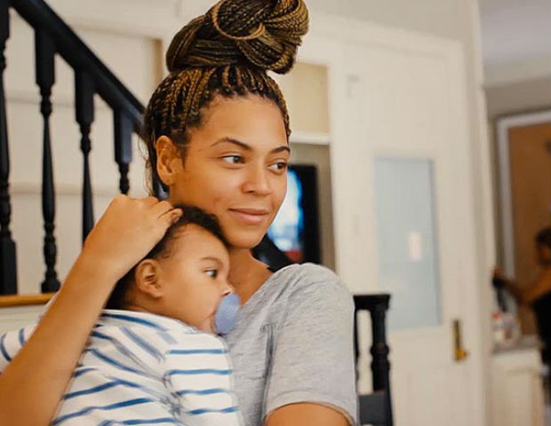 Bey shows nothing but love for Blue Ivy