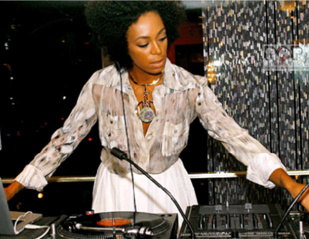 Solange knows how to rock a party