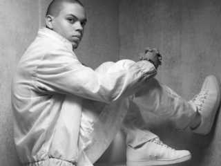 Evan Ross holds up the family name