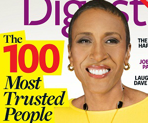 Robin Roberts Is 'Most Trusted' TV News Personality