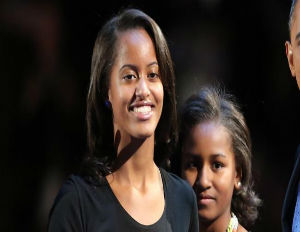 Malia Obama Works on Set of Halle Berry's Latest Project