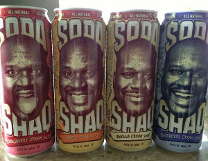 Shaquille O'Neal Inks Deal With Arizona Beverages For Soda Brand