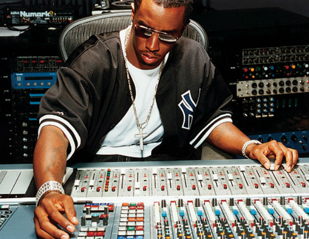 puff daddy on studio boards