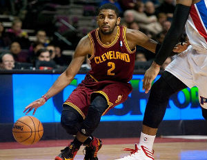 Cavaliers Guard Kyrie Irving to Cover NBA Live '14
