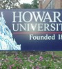 howard university entrance sign