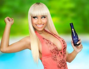 Nicki Minaj & Mona Scott Mona Scott-Young Partner with Moscato Brand