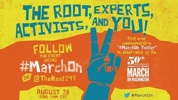 The Root Hosts 'March on Twitter'