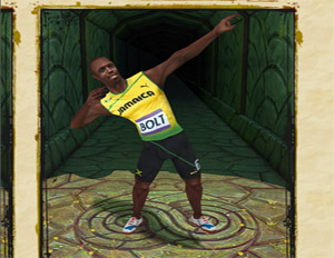Usain Bolt Added to 'Temple Run 2'