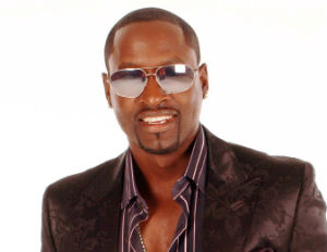 johnny gill smiling