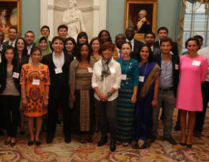 30 entrepreneurs from around the world are touring U.S. to engage in peer-to-peer learning and relationship-building.