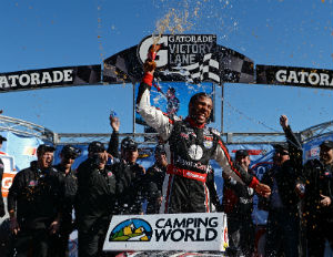 For Darrell Wallace Jr., an Add of a Victory to His Brand's Winning Smile