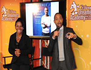 Terrence J Inspires Youth To 'Dream Big' Through Disney Dreamer's Academy