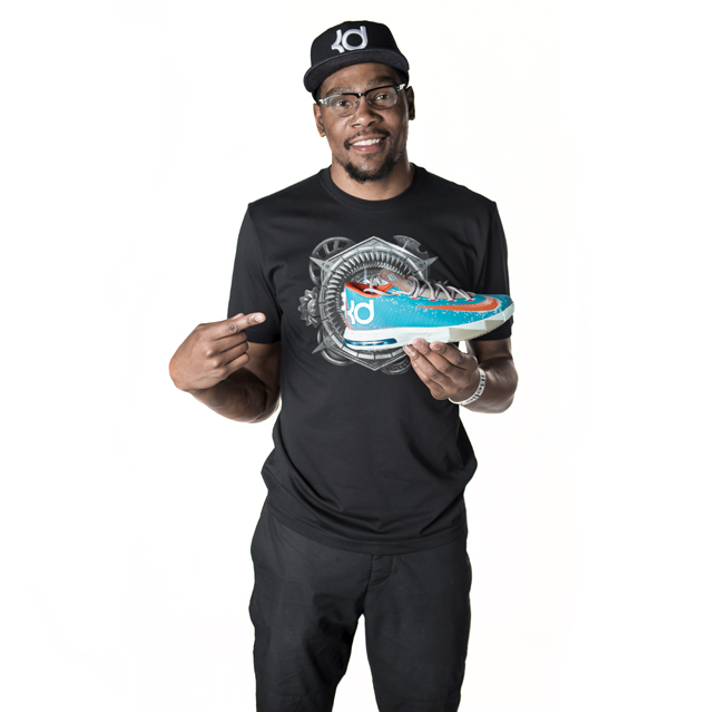 Nike Releases Kevin Durant Vi Maryland Blue Crab Sneaker
