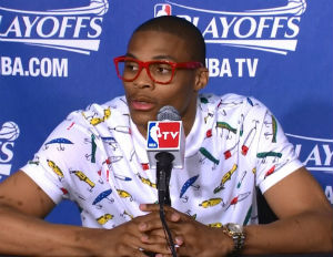 Russell Westbrook Spending Spring In Barneys New York