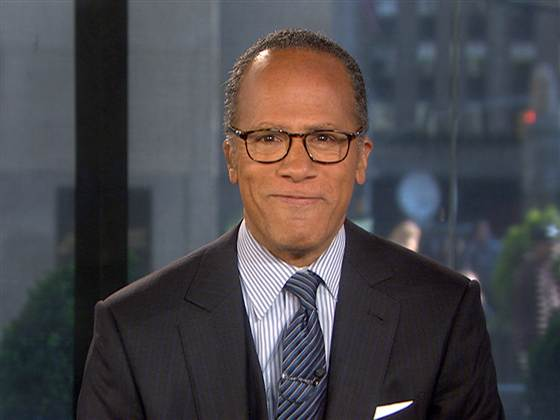NBC Sports Taps Lester Holt to Host Coverage of Sochi Winter Olympics