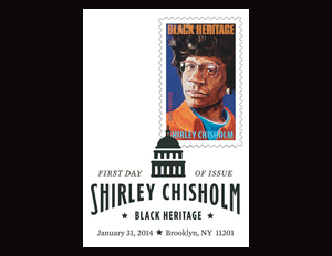 37th Black Heritage Stamp to Honor Shirley Chisholm