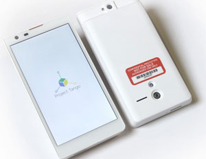 """Google's """"Project Tango"""" Smartphone Maps Your World in 3D"""