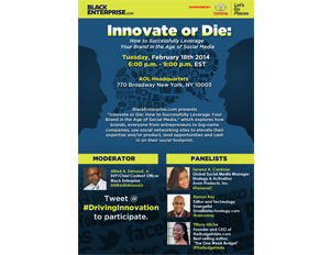 #SMW14: 'Innovate or Die: How to Successfully Leverage Your Brand in the Age of Social Media'
