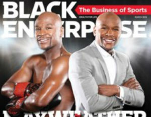 Floyd Mayweather Covers March Issue of Black Enterprise Magazine