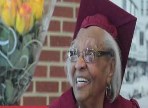 98-Year-Old high school graduate