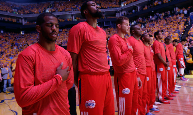 Clippers-Protest