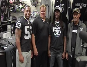 Raiders Grant Shopping Spree to Oakland Teen Headed to Yale