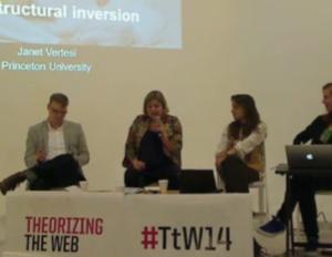 Janet Vertesi at Theorizing the Web