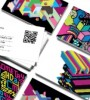 Moo QR code business cards