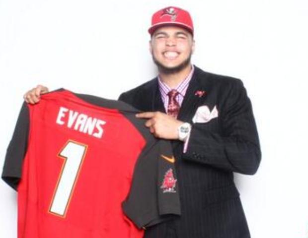 Number 6 NFL draft pick, Mike Evans