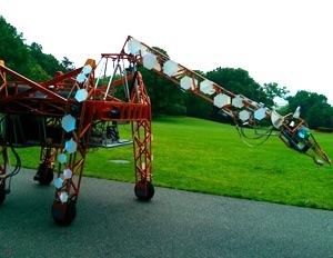 giraffe white house maker faire
