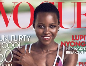 Lupita makes Voque Cover