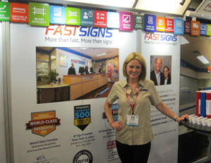 """Franchise Spotlight: Is """"Fastsigns"""" Banner Year A Sign Of The Times?"""