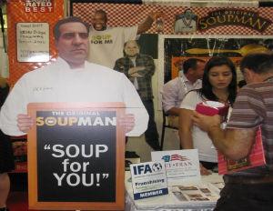 Franchise Spotlight: Shaq, Mr. October Endorse Original SoupMan Food truck