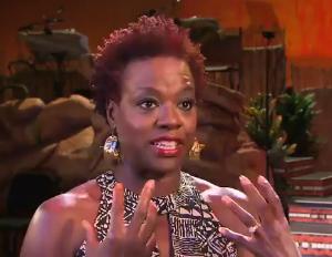 Viola Davis Narrates Lion King at Harambe Nights