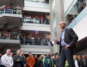 Satya Nadella Microsoft Employees