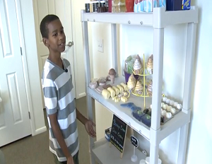 Young Entrepreneur Uses Soap Business to Help the Homeless