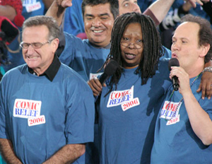 Robin Williams, Whoopi Goldberg and Billy Crystal Raised $80 Million For Homeless