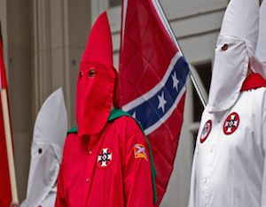 KKK Calls Michael Brown Shooter A 'Hero'; Raises Money For Defense