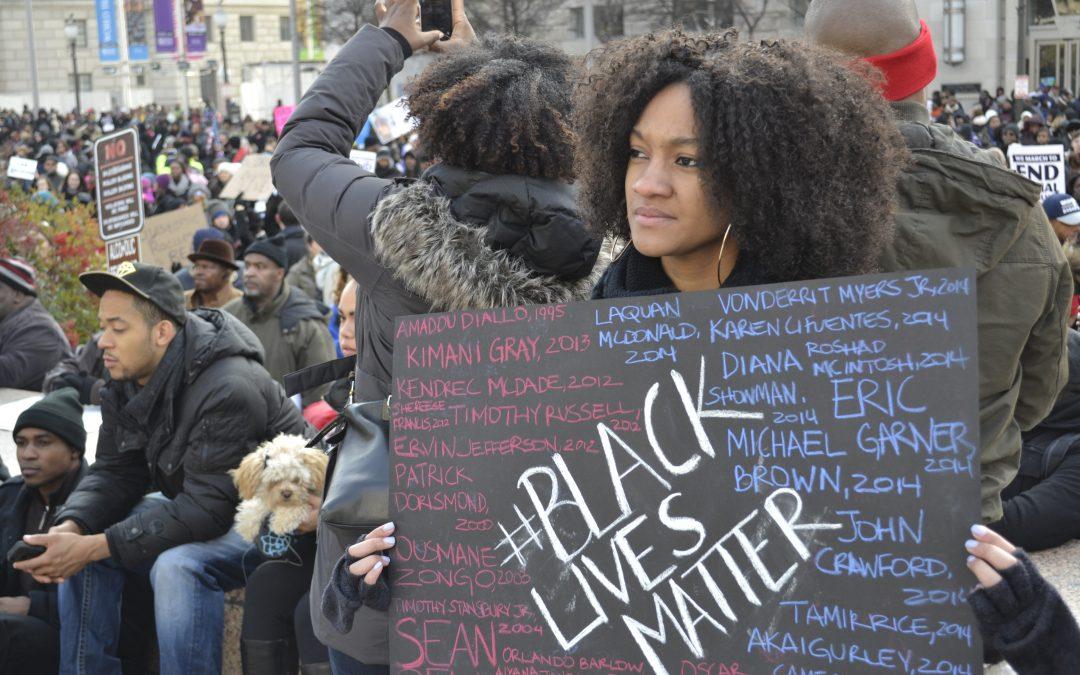 California Teacher Trashes Students' Black Lives Matter Posters